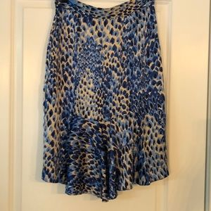 Tibi Skirts - Tibi silk print skirt